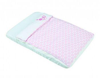 Постельное белье для колыбели Micuna Cododo розовый (TX-1640)