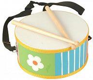 Барабан детский деревянный
