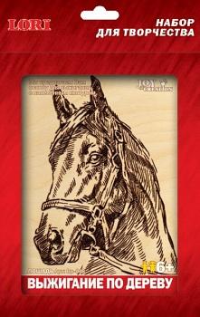 """Выжигание по дереву """"Лошадь"""" (Lori Вр-018)"""