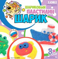 "Шариковый пластилин ""Шарик"" (4 цвета)"
