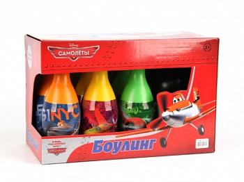 """Набор для боулинга """"Disney. Самолеты"""" (Затейники GT7441)"""