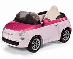 Электромобиль Peg-Perego Fiat 500 Pink