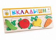 "Деревянная рамка-вкладыш ""Овощи"""