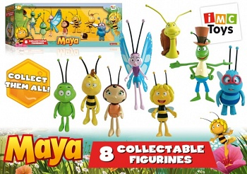 """Набор фигурок """"Пчелка Майя. Насекомые"""" (iMC Toys 200135)"""