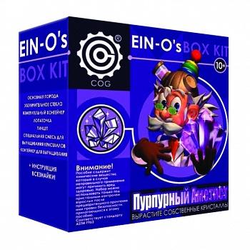 """Набор для выращивания кристаллов """"Пурпурный аметист"""" (Профессор Эйн E2383AP)"""