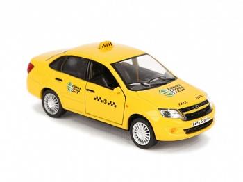 """Машинка инерционная """"Lada Granta. Такси"""" (Затейники GT6609)"""