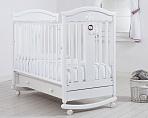 """Кровать 120x60 Гандылян """"Даниэль"""" белый"""