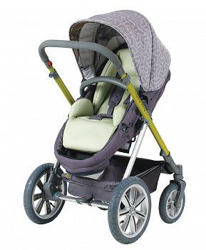 Комбинированная коляска Happy Baby Ultra Lime (2556)