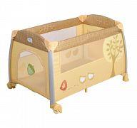 Манеж-кровать Happy Baby Thomas Golden