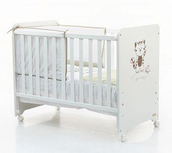 Кровать 120x60 Micuna Promoplay белый