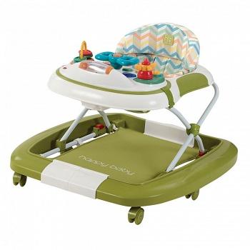 Ходунки-качалка Happy Baby Robin Green (2449)