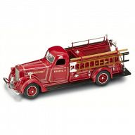 """Коллекционная модель автомобиля """"Пожарная машина. AMERICAN LAFRANCE B-550RC 1939"""""""
