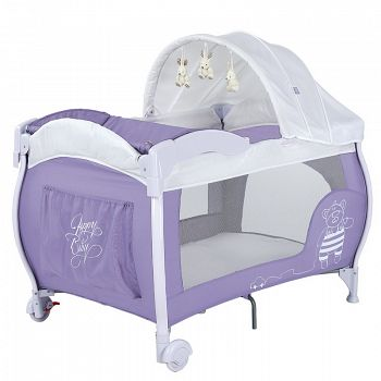 Манеж Happy Baby Lagoon Purple (2650)