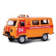 """Машина металлическая инерционная """"УАЗ 39625. Аварийная служба"""""""