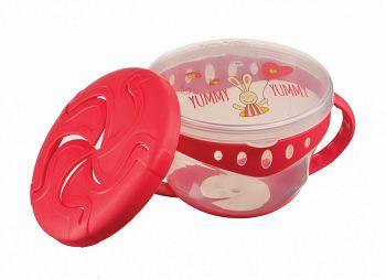 "Тарелка с двумя крышками ""Comfy Plate"" (Happy Baby 15021)"