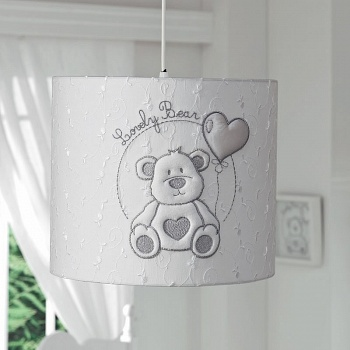 Абажур Funnababy Lovely Bear White