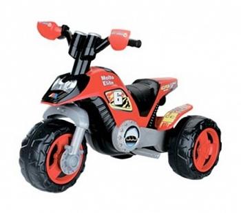 Детский мотоцикл Molto Elite 6 красный (Полесье 35882)