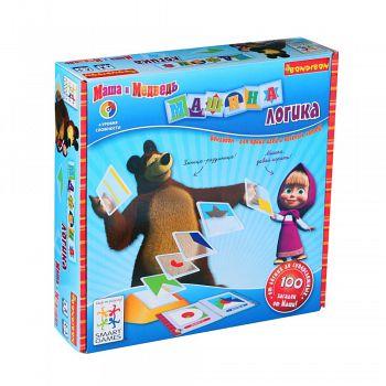 """Логическая игра """"SmartGames. Маша и Медведь. Машина логика"""" (Bondibon ВВ1050)"""