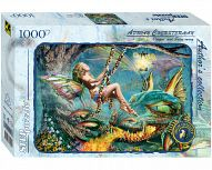 "Пазл ""Author's Collection. Красавица и дракон"" (1000 элементов)"