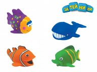 """Пластизоль """"Водный мир. Рыбка"""""""