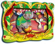 """Объемная картинка """"Слоненок в цирке"""" (26 деталей)"""