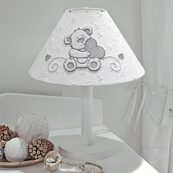 Настольная лампа Funnababy Lovely Bear White