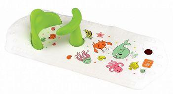 """Коврик для купания с сиденьем """"Sea Life Plus"""" (Happy Baby 34009)"""
