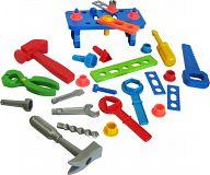 Набор детских инструментов с верстаком