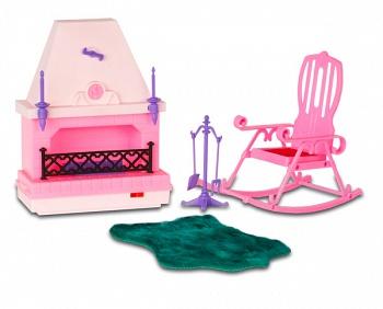 """Набор мебели для кукол """"Уютный уголок"""" (Огонек С-268)"""