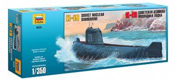 """Сборная модель """"Советская атомная подводная лодка К-19"""" (Звезда 9025)"""