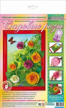 """Набор для изготовления картины """"Вальс цветов. Садовые розы"""" (Клевер АБ 14-357)"""