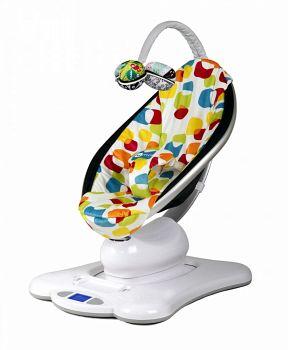 Электронное кресло-качалка 4moms mamaRoo мульти плюш