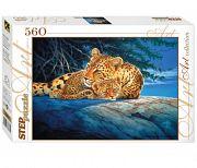 """Пазл """"Art Collection. Леопарды"""" (560 элементов)"""