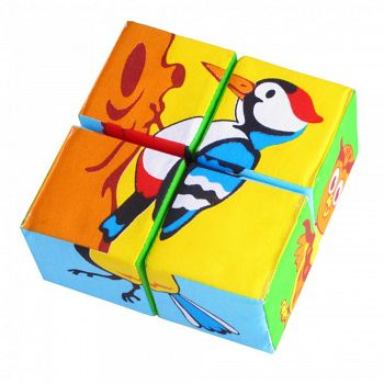 """Кубики-мякиши """"Собери картинку. Птицы"""" (239)"""