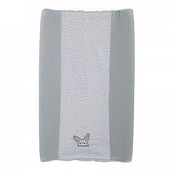 Чехол на пеленальный матрасик Micuna Rabbit серый (TX-1152)