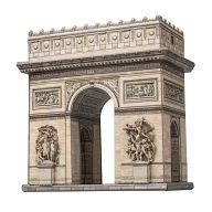"""Сборная модель из картона """"Триумфальная арка"""" (44 детали)"""