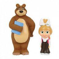 """Игровой набор для ванны """"Маша и Медведь. Маша-школьница с Мишкой"""""""