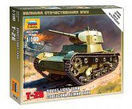 """Сборная модель """"Великая Отечественная. Советский легкий танк Т-26"""""""