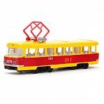 Трамвай металлический инерционный