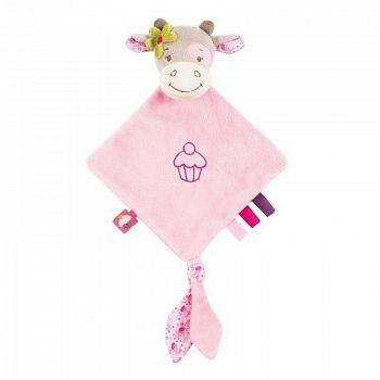 """Мягкая игрушка """"Small Doudou. Manon & Alizee. Коровка"""" (Nattou 521123)"""