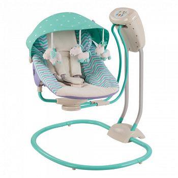 Кресло-качели Happy Baby Relaxer Mint (2770)