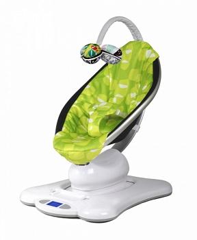 Электронное кресло-качалка 4moms mamaRoo зеленый плюш