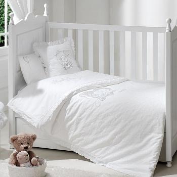 Сменное белье Funnababy Lovely Bear White