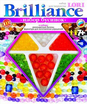 """Набор бусинок """"Brilliance. Летнее настроение"""" (Lori Бус-003)"""