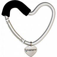"""Крепление для сумок """"Buggy Heart Hook Black"""""""