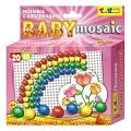 """Мозаика с аппликацией """"Baby Mosaic. Полянка"""" (60 деталей)"""