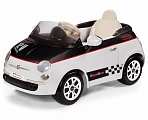Электромобиль Peg-Perego Fiat 500 White