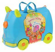 "Голубая каталка-чемодан для игрушек ""Котэ"""