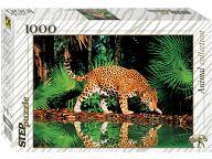 "Пазл ""Animal Collection. Леопард у воды"" (1000 элементов)"