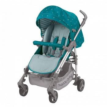 Открытая коляска Happy Baby Nicole NEW Marine (2497)